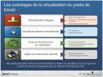 les avantages de la virtualisation du poste de travail