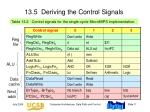 13 5 deriving the control signals
