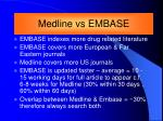 embase medline