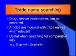 trade name searching