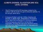 climate change glaciation and sea level change16