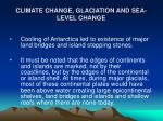 climate change glaciation and sea level change18