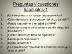 preguntas y cuestiones habituales 1
