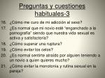 preguntas y cuestiones habituales 3