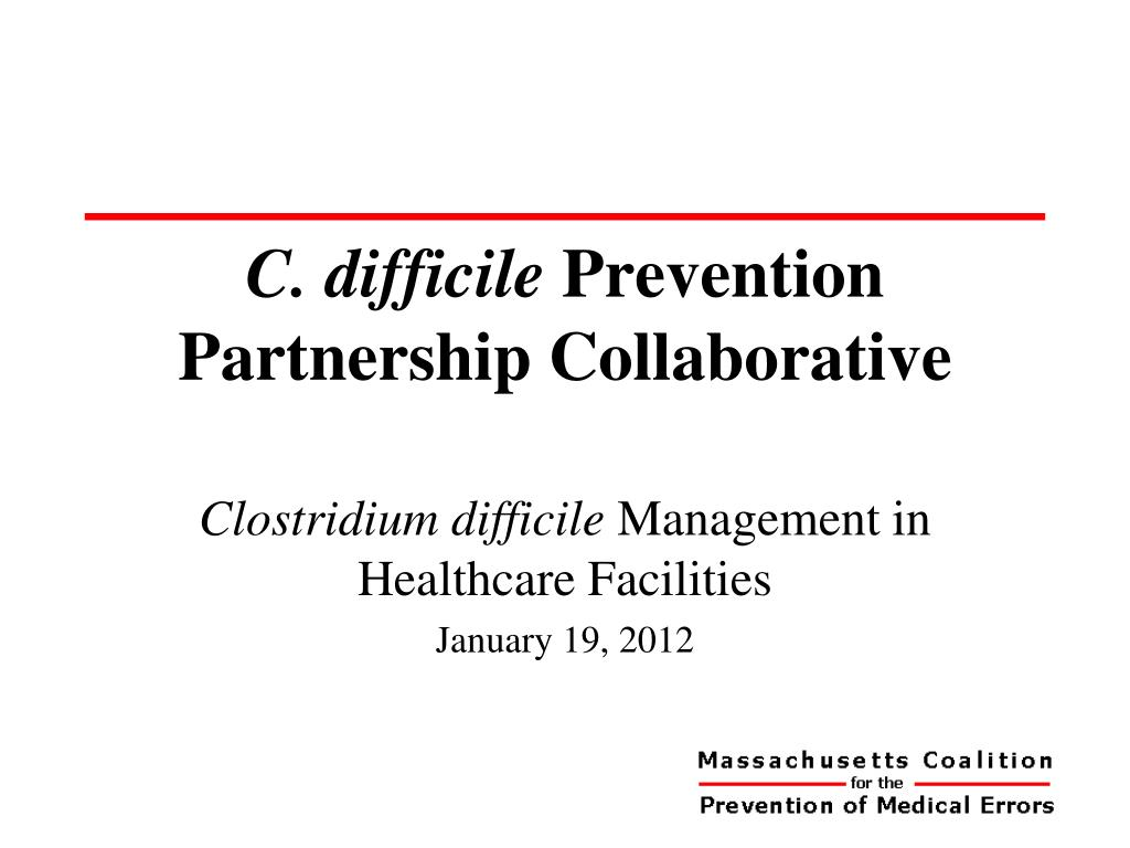 c difficile prevention partnership collaborative l.