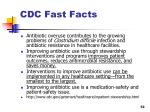 cdc fast facts