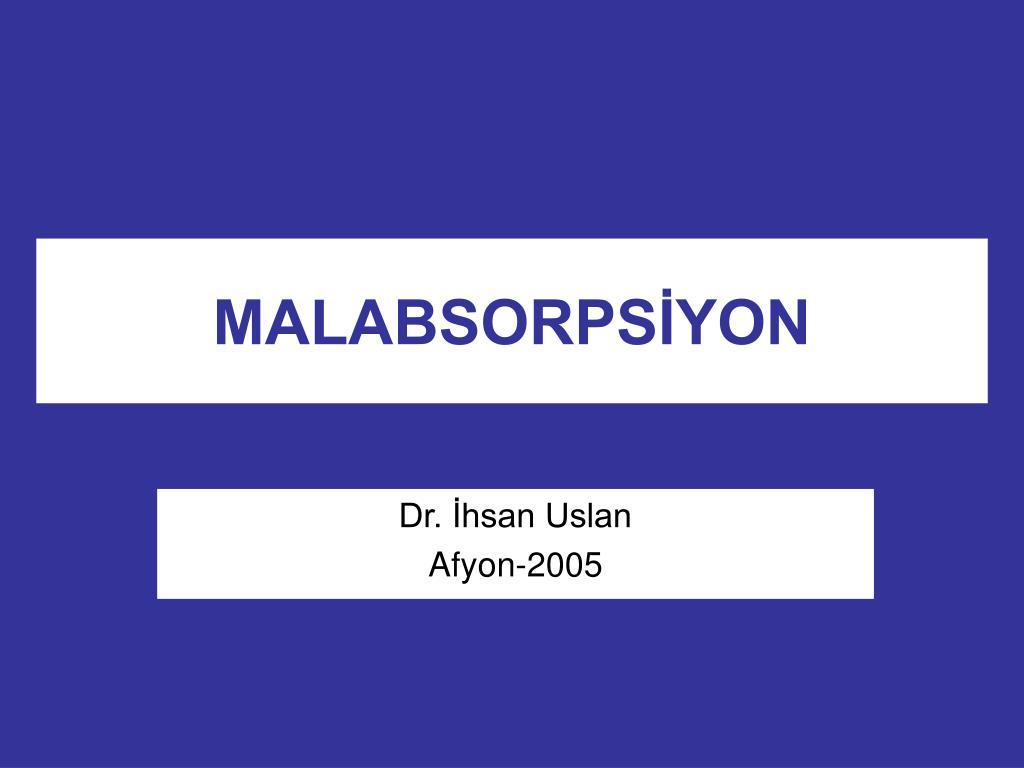 malabsorps yon l.