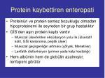 protein kaybettiren enteropati