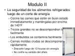 modulo ii35