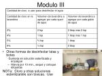 modulo iii44