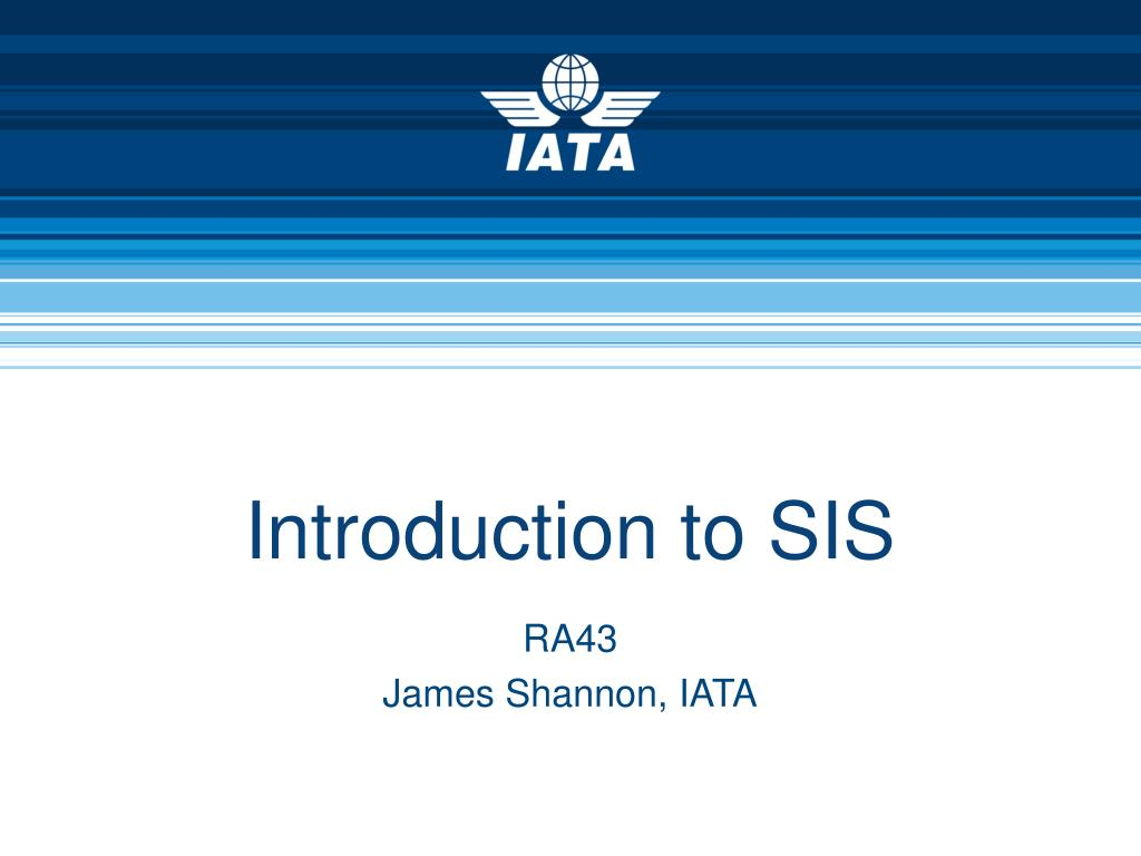 introduction to sis l.