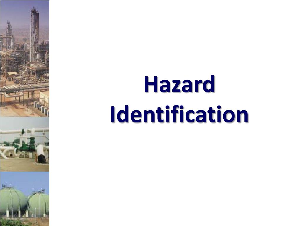 hazard identification l.