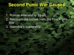 second punic war causes