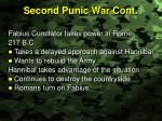 second punic war cont