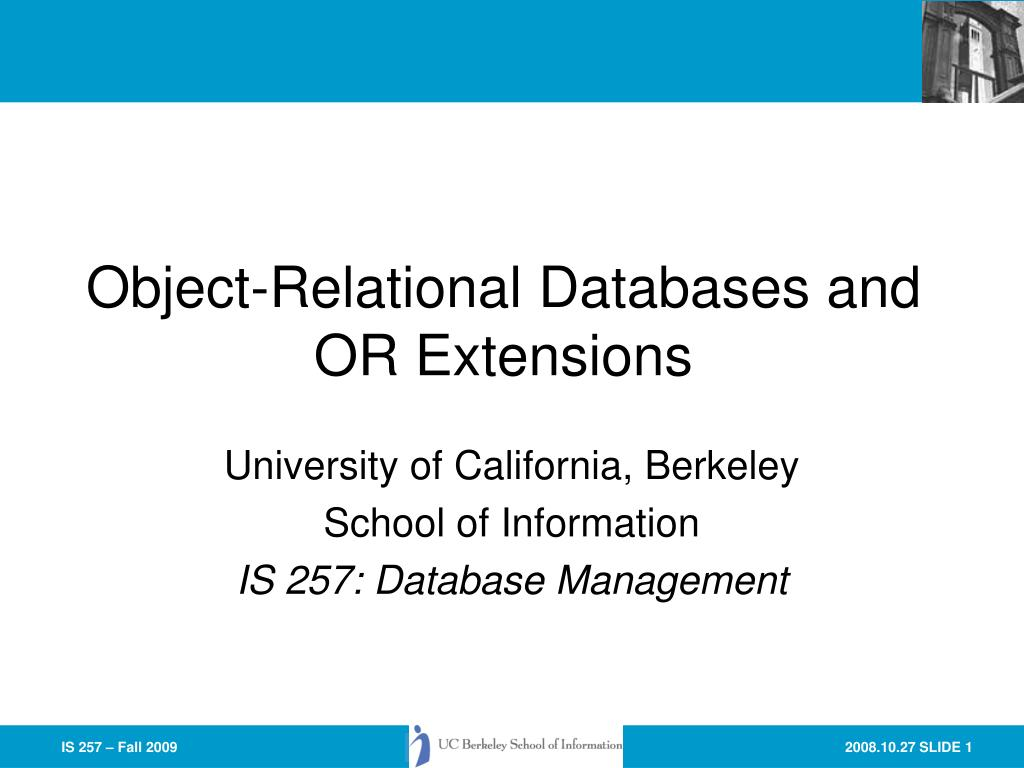 object relational databases phd thesis To formalise and implement a categorical object-related database system:  we use category theory to provide a formalism for object databases,  phd thesis: uri.