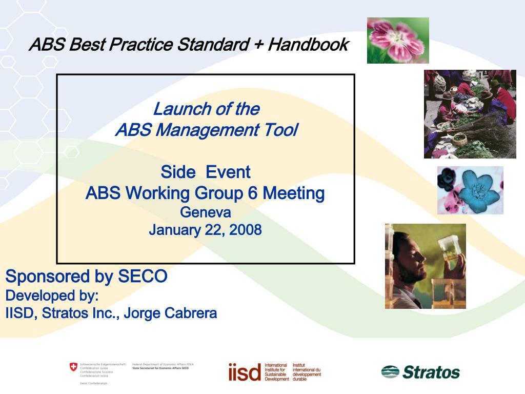 abs best practice standard handbook l.