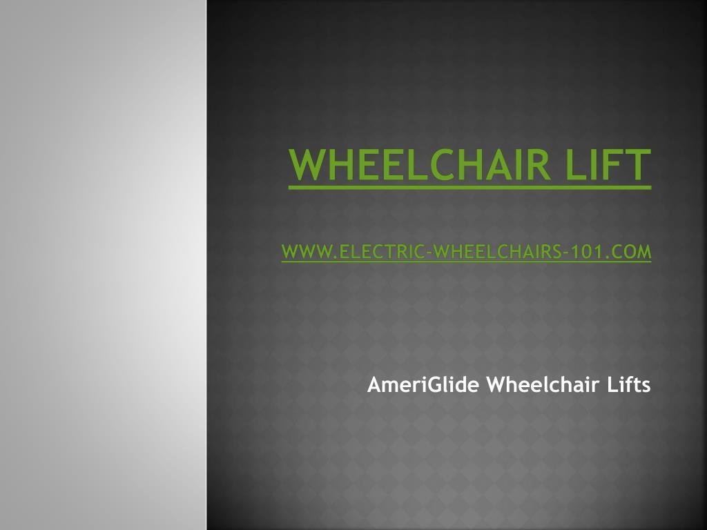 wheelchair lift www electric wheelchairs 101 com l.