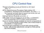 cpu control flow