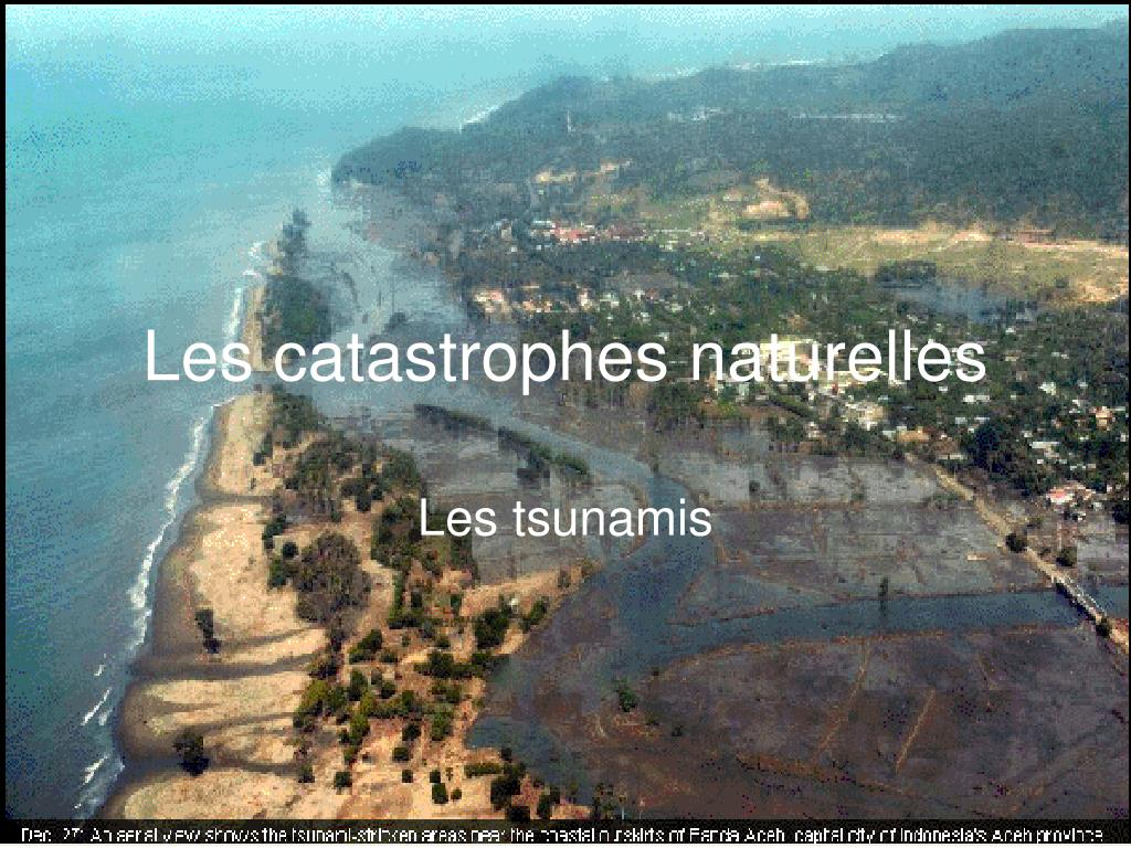 les catastrophes naturelles l.
