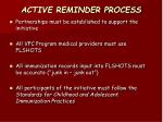 active reminder process