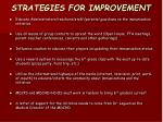 strategies for improvement15