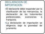 declaracion de importacion29