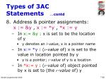 types of 3ac statements contd42