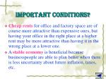 important conditions2