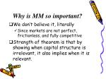 why is mm so important
