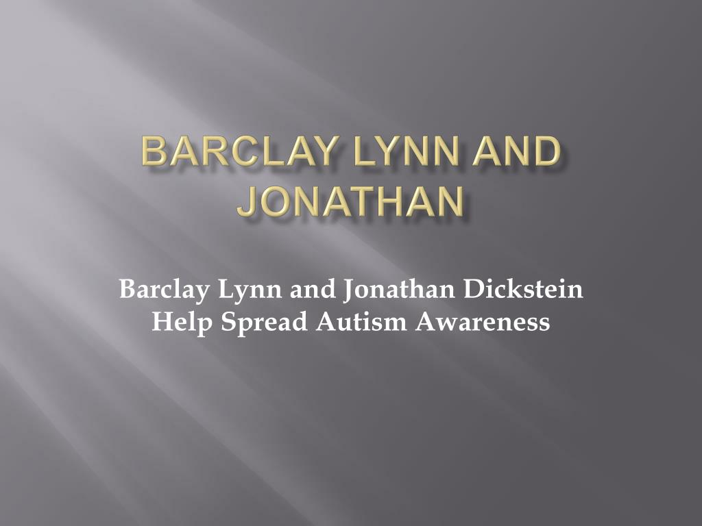 barclay lynn and jonathan l.