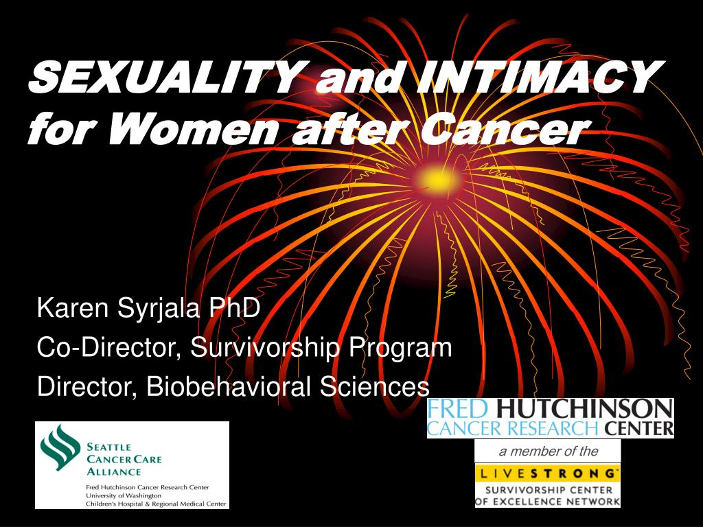 sexuality and intimacy for women after cancer l.