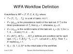 wifa workflow definition