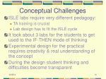 conceptual challenges