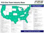 fcs one team industry base