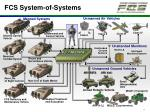 fcs system of systems