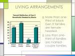 living arrangements18
