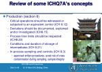 review of some ichq7a s concepts31
