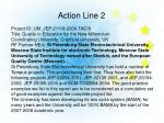 action line 2