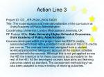 action line 3