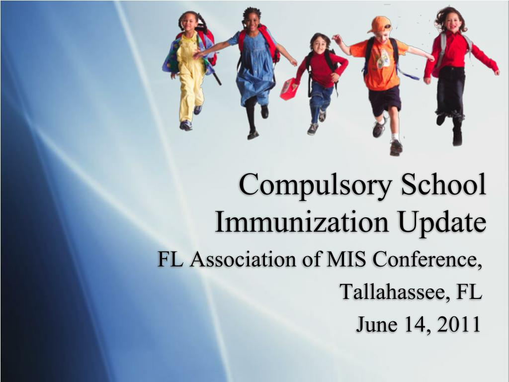 compulsory school immunization update l.