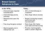 breast cancer advances in care32