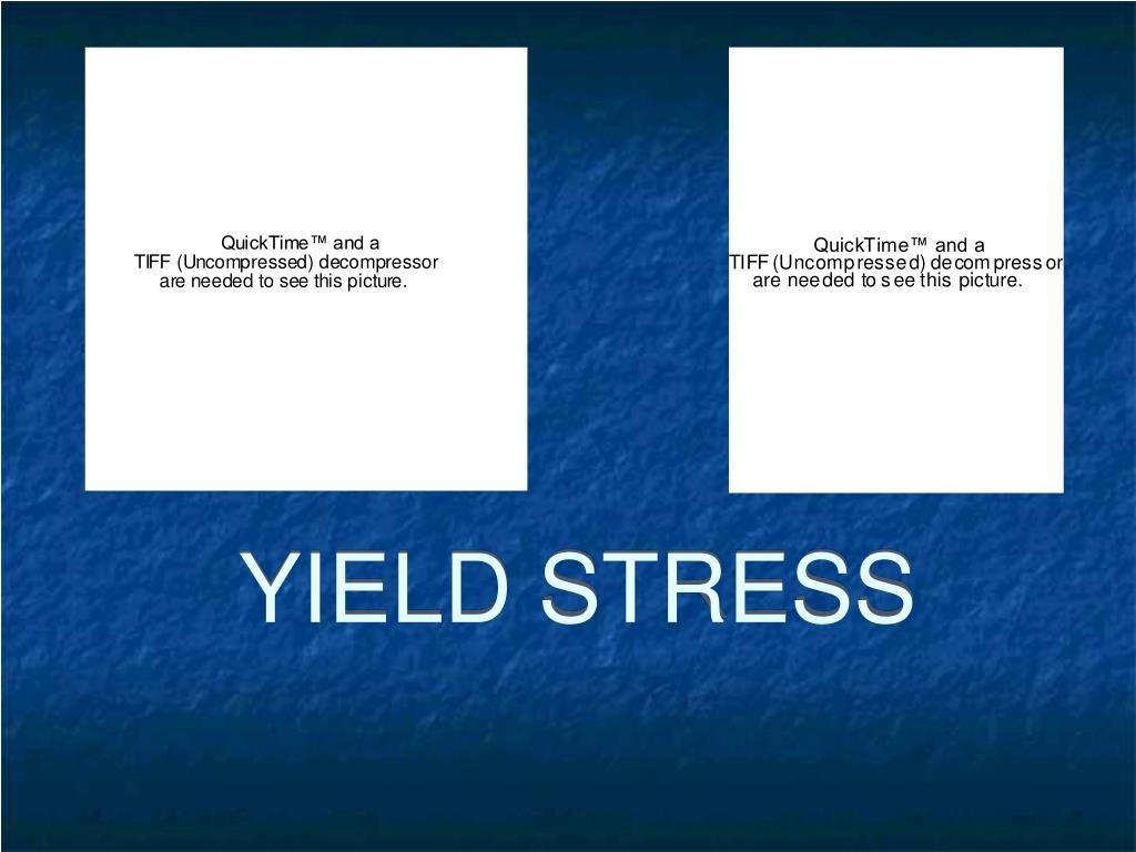 yield stress l.
