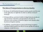 the transportation link cont4