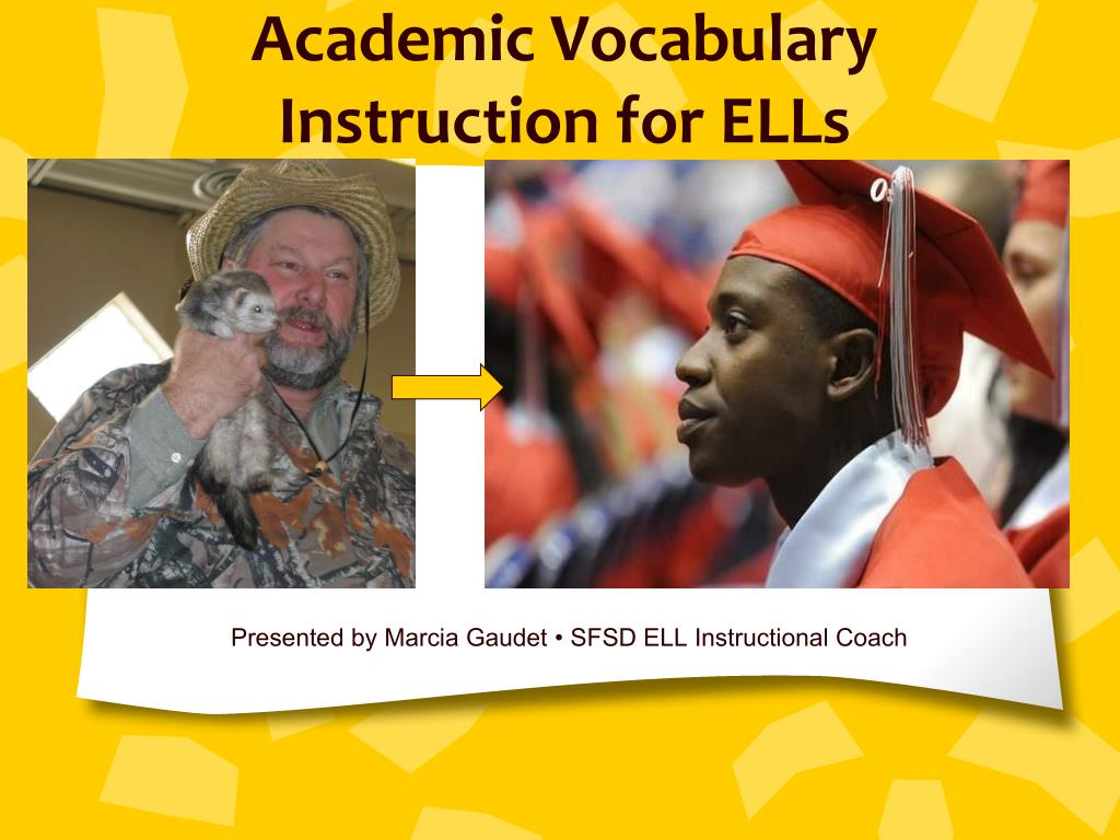 academic vocabulary instruction for ells l.
