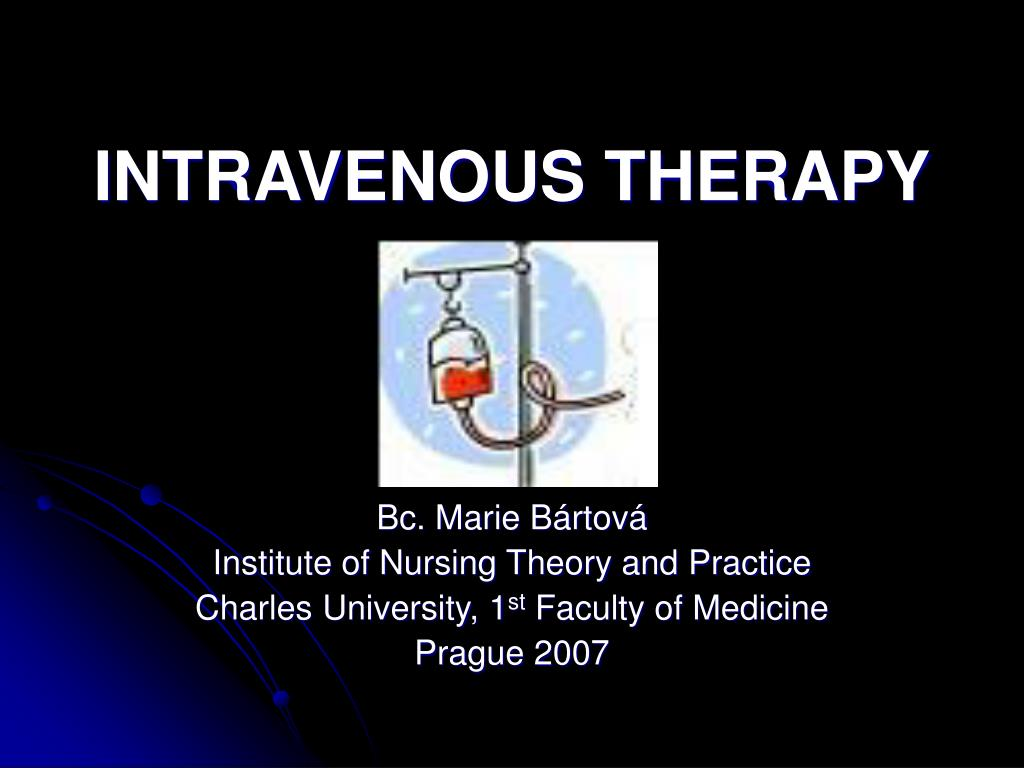 intravenous therapy l.