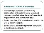 additional iccals benefits32