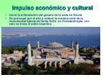 impulso econ mico y cultural