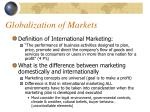 globalization of markets5