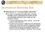 international marketing task8