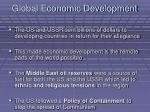 global economic development